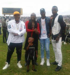 Afafa au grand complet au stade de l'amitié Cotonou