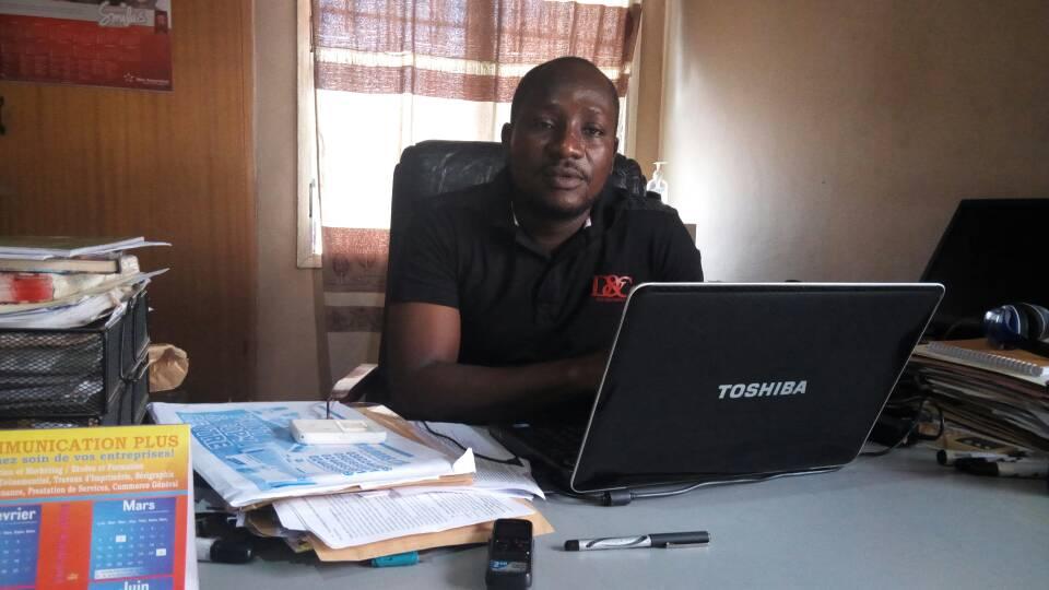 Juvence Babagbeto, directeur exécutif de Eagle vision institute