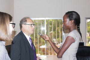 David Applefield, représentant de Financial Times en Afrique